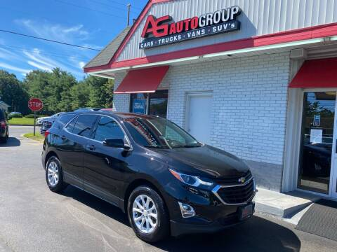 2019 Chevrolet Equinox for sale at AG AUTOGROUP in Vineland NJ