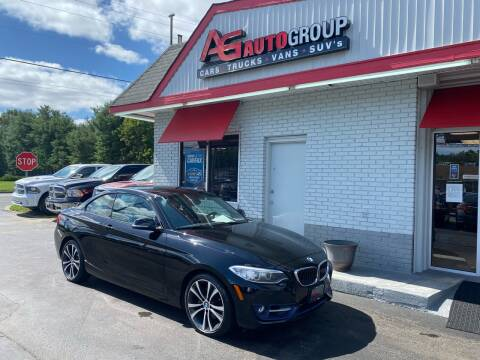 2015 BMW 2 Series for sale at AG AUTOGROUP in Vineland NJ