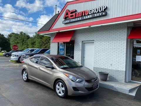 2013 Hyundai Elantra for sale at AG AUTOGROUP in Vineland NJ
