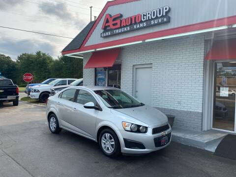 2014 Chevrolet Sonic for sale at AG AUTOGROUP in Vineland NJ