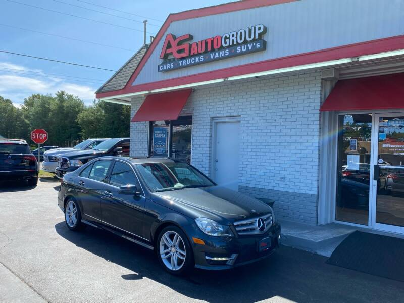 2013 Mercedes-Benz C-Class for sale at AG AUTOGROUP in Vineland NJ