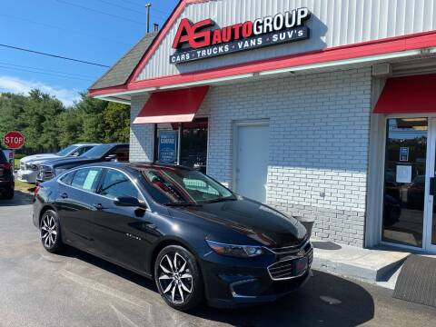 2017 Chevrolet Malibu for sale at AG AUTOGROUP in Vineland NJ