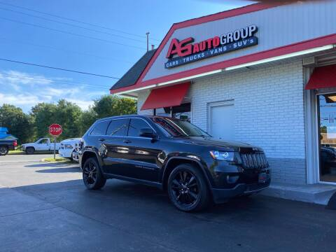 2012 Jeep Grand Cherokee for sale at AG AUTOGROUP in Vineland NJ
