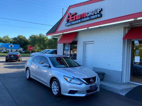 2016 Nissan Altima for sale at AG AUTOGROUP in Vineland NJ