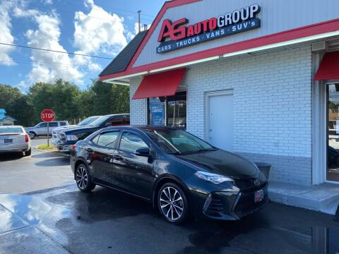 2017 Toyota Corolla for sale at AG AUTOGROUP in Vineland NJ