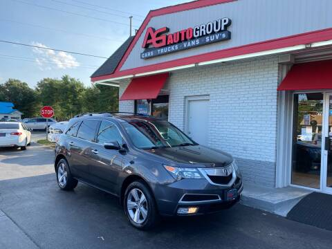 2012 Acura MDX for sale at AG AUTOGROUP in Vineland NJ
