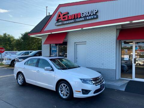 2012 Ford Fusion for sale at AG AUTOGROUP in Vineland NJ
