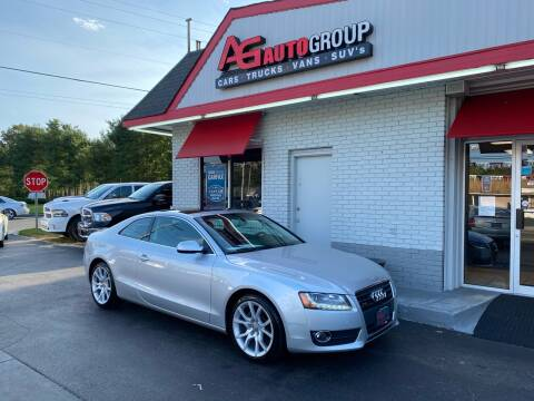 2012 Audi A5 for sale at AG AUTOGROUP in Vineland NJ