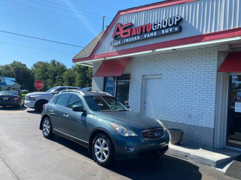2008 Infiniti EX35 for sale at AG AUTOGROUP in Vineland NJ