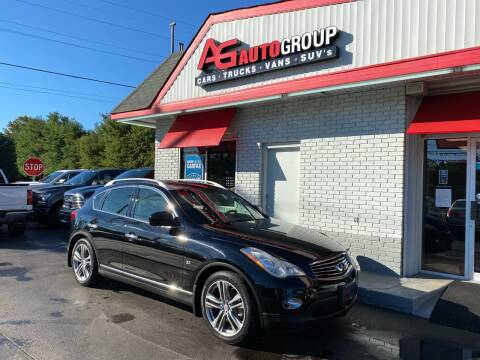 2014 Infiniti QX50 for sale at AG AUTOGROUP in Vineland NJ