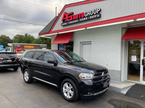 2013 Dodge Durango for sale at AG AUTOGROUP in Vineland NJ