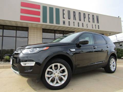 2016 Land Rover Discovery Sport for sale in Cedar Rapids, IA