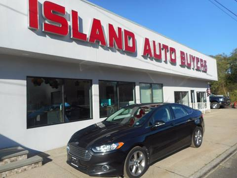 2013 Ford Fusion for sale in West Babylon, NY