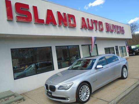 2011 BMW 7 Series for sale at Island Auto Buyers in West Babylon NY