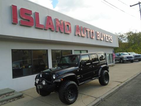 2015 Jeep Wrangler Unlimited for sale in West Babylon, NY