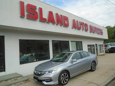 2017 Honda Accord for sale in West Babylon, NY