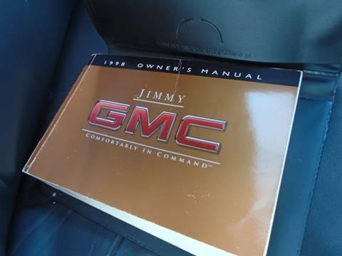 1998 GMC Jimmy