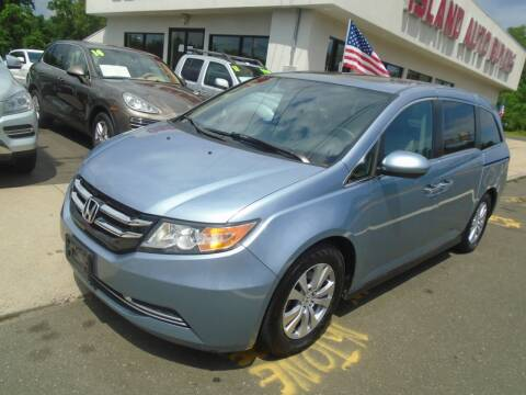 2014 Honda Odyssey for sale at Island Auto Buyers in West Babylon NY