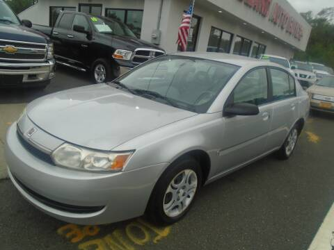 2003 Saturn Ion for sale at Island Auto Buyers in West Babylon NY