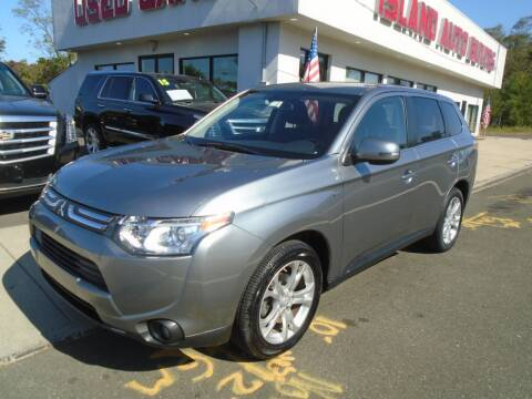 2014 Mitsubishi Outlander for sale at Island Auto Buyers in West Babylon NY