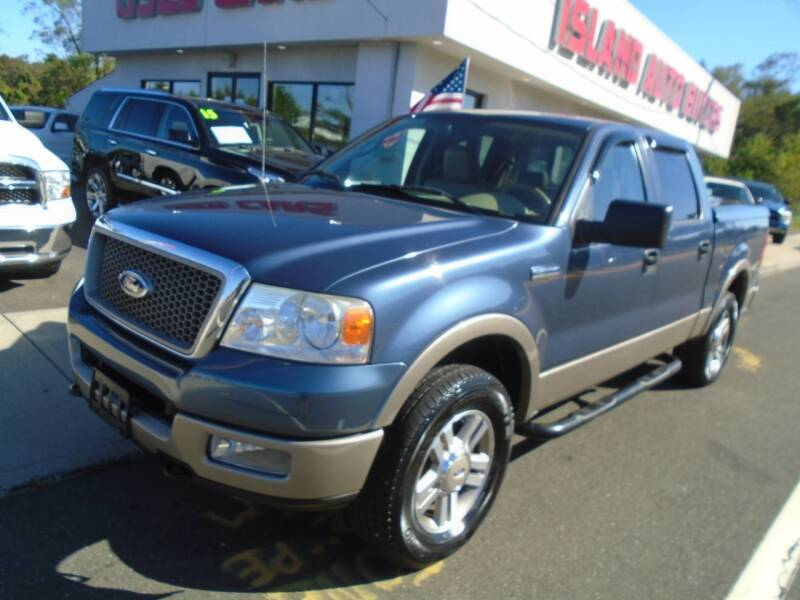 2005 Ford F-150 for sale at Island Auto Buyers in West Babylon NY