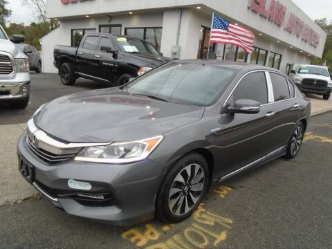 2017 Honda Accord Hybrid for sale at Island Auto Buyers in West Babylon NY