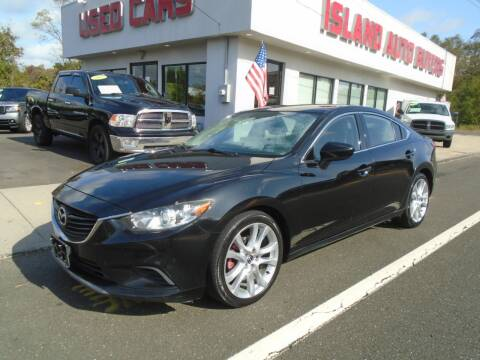2014 Mazda MAZDA6 for sale at Island Auto Buyers in West Babylon NY