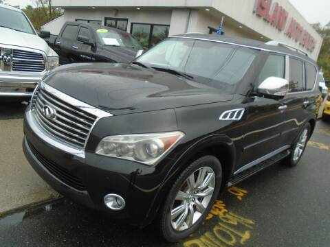 2013 Infiniti QX56 for sale at Island Auto Buyers in West Babylon NY