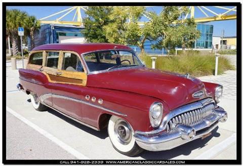 1953 Buick 50 Super for sale in Sarasota, FL