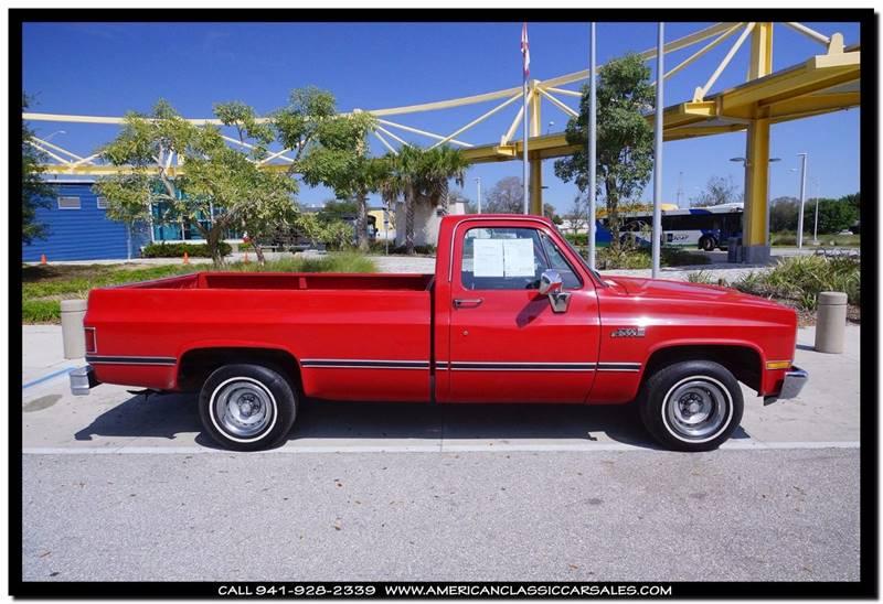 1987 GMC R/V 1500 Series 2dr R1500 Standard Cab SB - Sarasota FL
