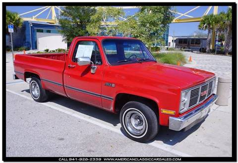1987 GMC R/V 1500 Series for sale in Sarasota, FL