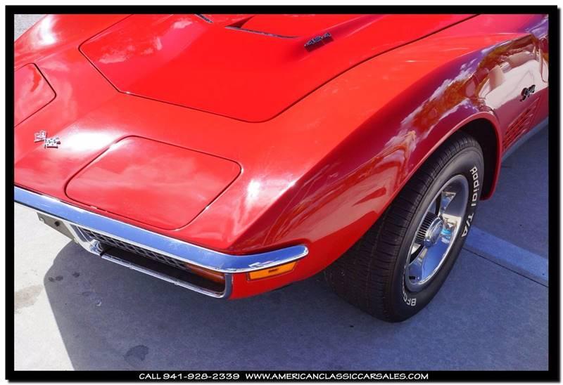 1972 Chevrolet Corvette  - Sarasota FL