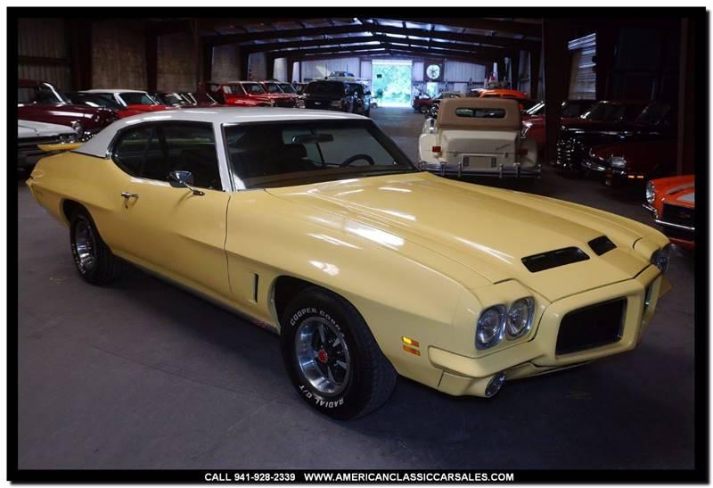 1972 Pontiac GTO $27,650