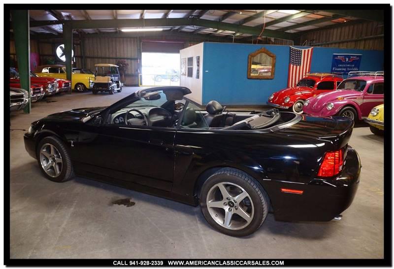2003 Ford Mustang SVT Cobra SVT Cobra 2dr Supercharged Convertible - Sarasota FL