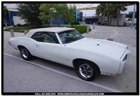 1969 Pontiac GTO for sale in Sarasota, FL