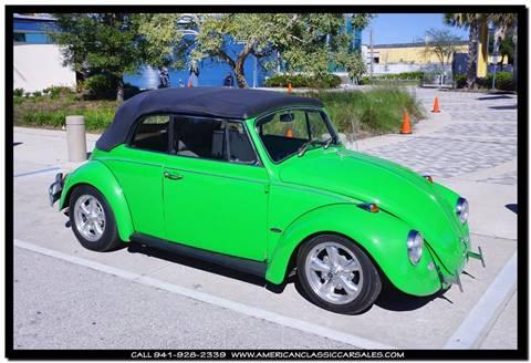 1967 Volkswagen Beetle Convertible