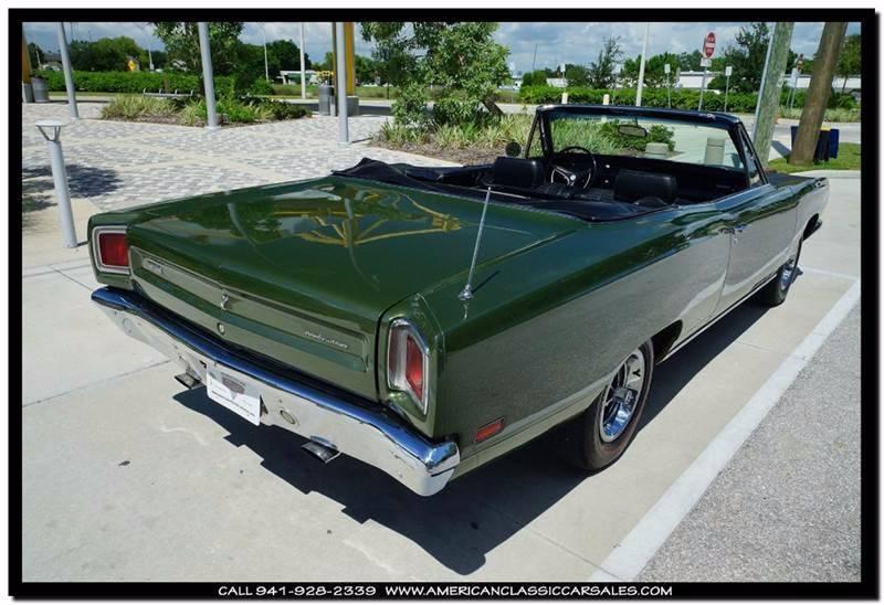 1969 Plymouth Roadrunner  - Sarasota FL
