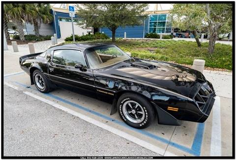 1979 Pontiac Firebird Trans Am for sale in Sarasota, FL