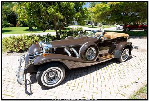 1984 Excalibur Phaeton for sale in Sarasota, FL