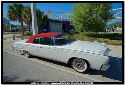 1966 Chrysler Imperial for sale in Sarasota, FL