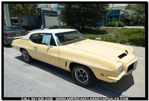 1972 Pontiac GTO for sale in Sarasota, FL