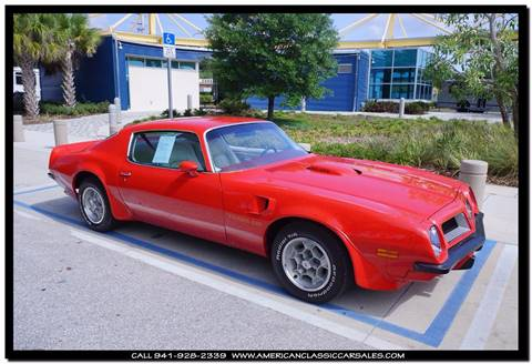 1974 Pontiac Trans Am SD 455