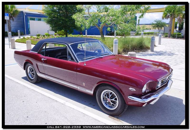 1966 Ford Mustang GT - Sarasota FL & 1966 Ford Mustang GT In Sarasota FL - American Classic Car Sales markmcfarlin.com