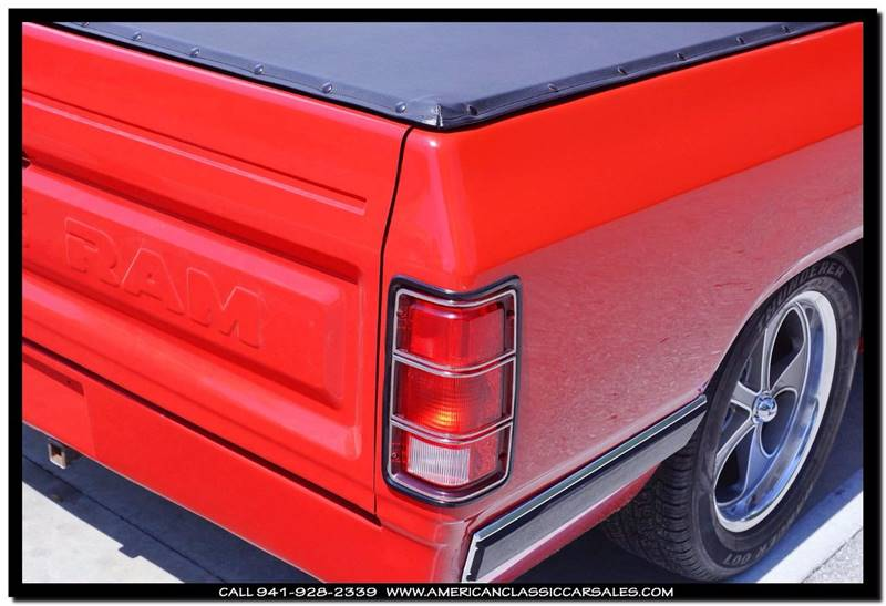 1987 Dodge RAM 100 Sweptli - Sarasota FL