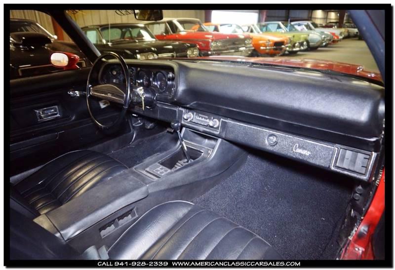 1971 Chevrolet Camaro RPO Z27 - Sarasota FL