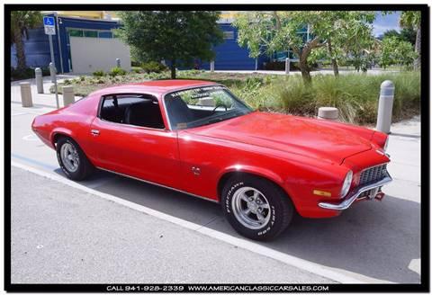 1971 Chevrolet Camaro for sale in Sarasota, FL