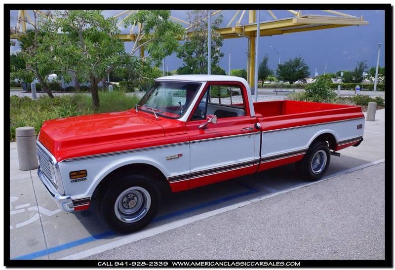 1972 Chevrolet C/K 10 Series Super Cheyenne - Sarasota FL
