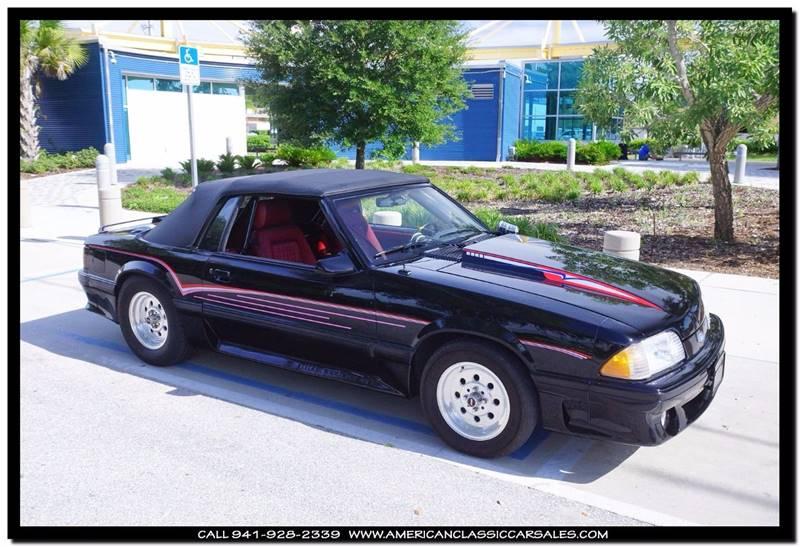 Ford Mustang Gt Dr Convertible Sarasota Fl