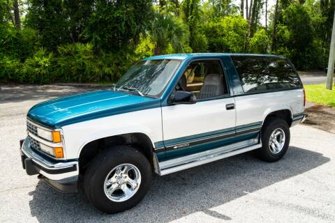 1992 Chevrolet Blazer for sale at American Classic Car Sales in Sarasota FL
