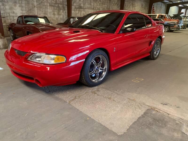 1997 Ford Mustang SVT Cobra for sale at American Classic Car Sales in Sarasota FL